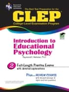 CLEP Introduction to Educational Psychology ebook by Raymond Webster,Jody Berman