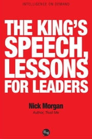 The Kings Speech ebook by Nick Morgan