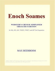 Enoch Soames (Webster's Chinese Simplified Thesaurus Edition) ebook by ICON Group International, Inc.