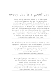 Every Day Is a Good Day: Reflections by Contemporary Indigenous Women ebook by Mankiller, Wilma