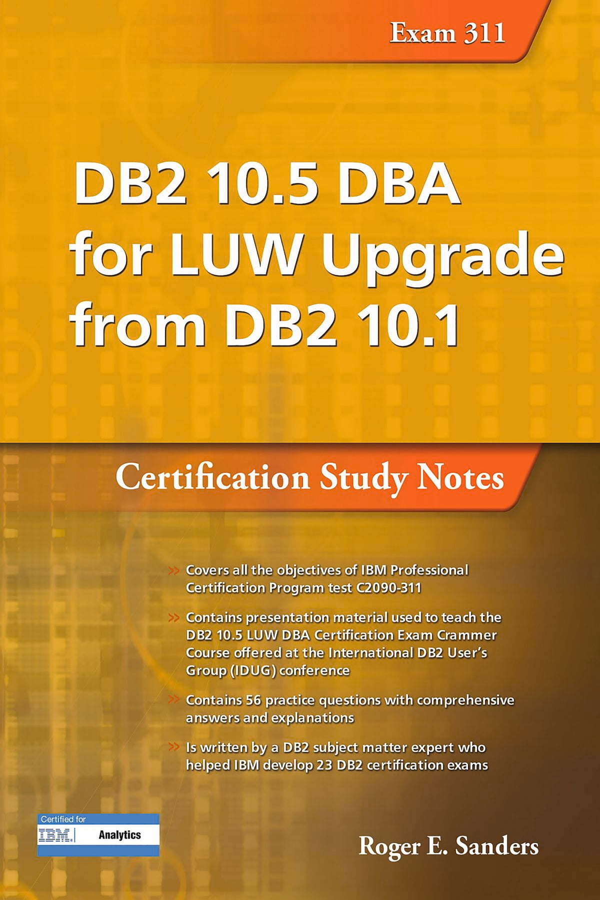 Db2 105 Dba For Luw Upgrade From Db2 101 Certification Study