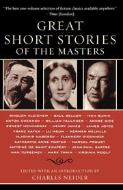 Great Short Stories of the Masters ebook by