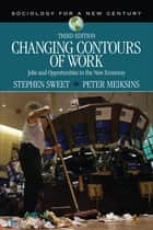 Changing Contours of Work - Jobs and Opportunities in the New Economy ebook by Stephen A. Sweet, Dr. Peter F. Meiksins
