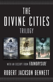 Fantasy ebooks rakuten kobo the divine cities trilogy city of stairs city of blades and city of fandeluxe Image collections