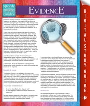 Evidence (Speedy Study Guides) ebook by Speedy Publishing