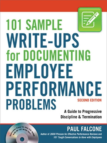 write up an employee sample
