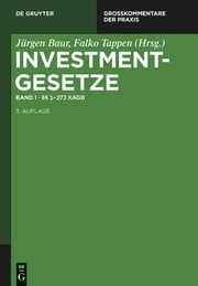 §§ 1 - 272 KAGB ebook by De Gruyter