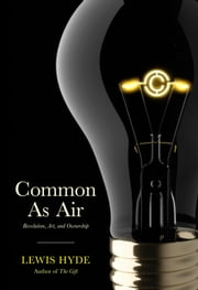 Common As Air - Revolution, Art, and Ownership ebook by Lewis Hyde