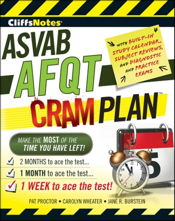 CliffsNotes ASVAB AFQT Cram Plan eBook by Jane R. Burstein,Pat Proctor,Carolyn C. Wheater