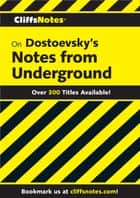 CliffsNotes on Dostoevsky's Notes from Underground ebook by James L Roberts