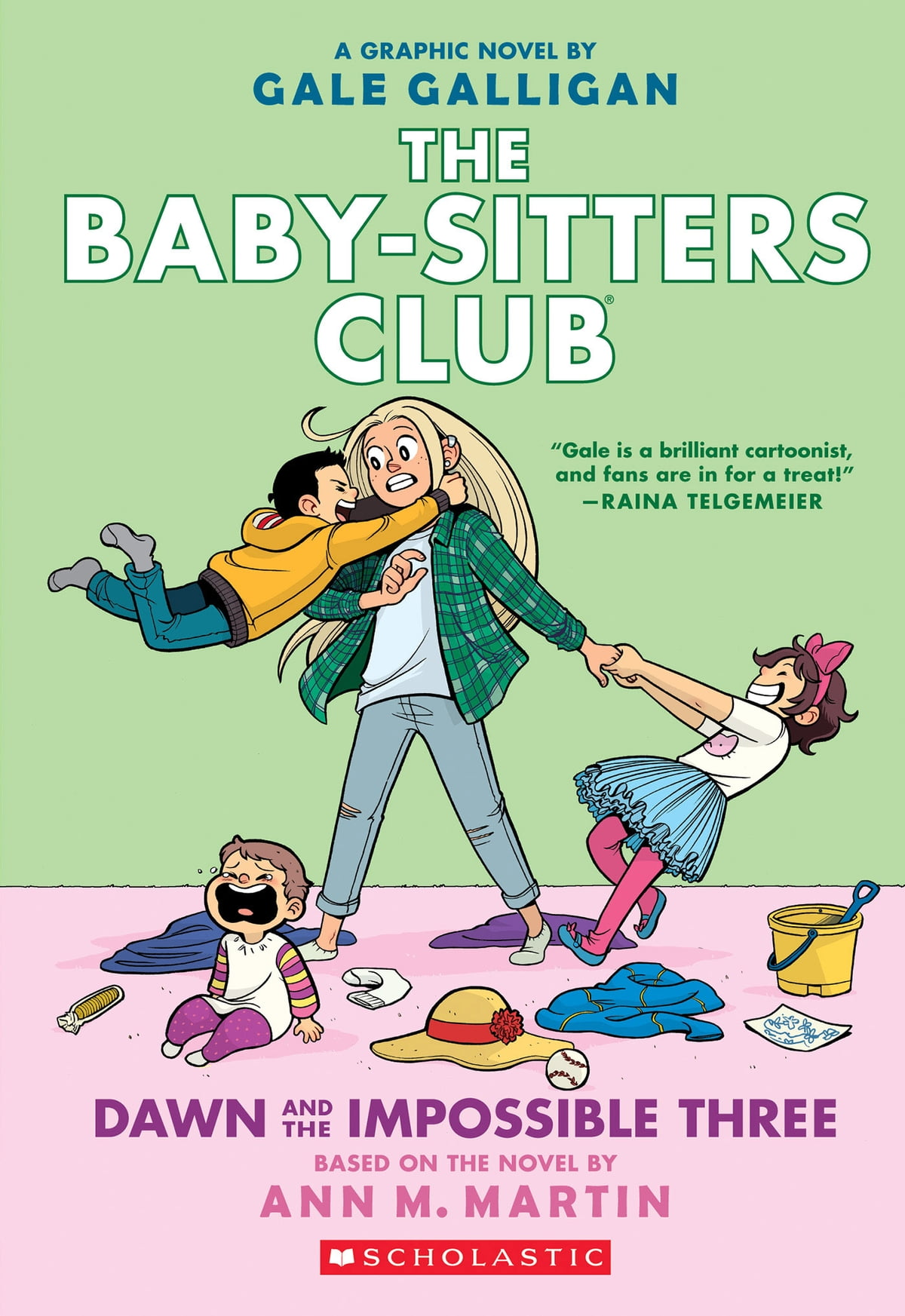 Dawn and the Impossible Three (The Baby-sitters Club Graphix #5) eBook by  Ann M. Martin - 9781338067354   Rakuten Kobo