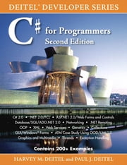C# for Programmers ebook by Harvey M. Deitel,Paul Deitel