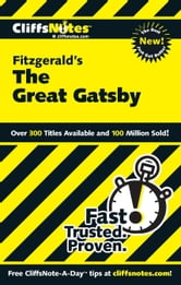 CliffsNotes on Fitzgerald's The Great Gatsby ebook by Kate Maurer