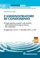 L'amministratore di condominio ebook by Massimiliano Di Pirro