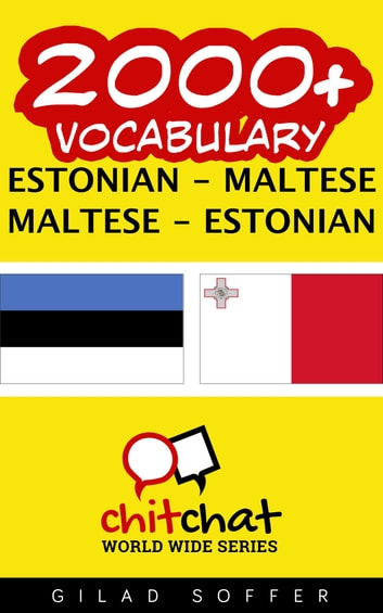 2000+ Vocabulary Estonian - Maltese ebook by Gilad Soffer