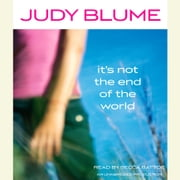 It's Not the End of the World audiobook by Judy Blume