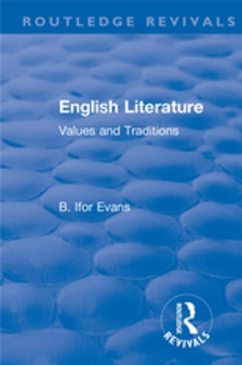 Ebook history evans english literature a ifor of by short