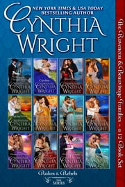 Rakes & Rebels: The Complete 12-Book Series - The Raveneau & Beauvisage Family Novels ebook by Cynthia Wright