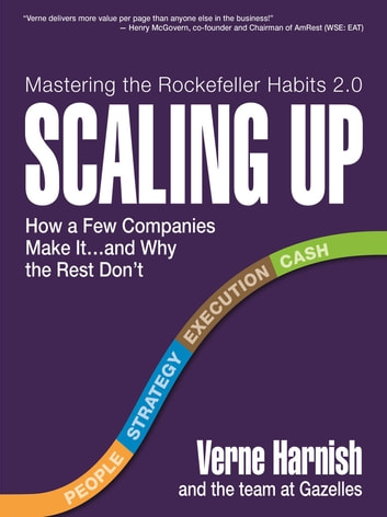 Scaling Up - How a Few Companies Make It...and Why the Rest Don't (Rockefeller Habits 2.0) ebook by Verne Harnish