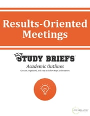 Results-Oriented Meetings