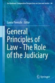 General Principles of Law - The Role of the Judiciary ebook by Laura Pineschi
