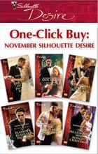 One-Click Buy: November Silhouette Desire ebook by Emilie Rose,Ann Major,Heidi Betts,Laura Wright,Tessa Radley,Barbara Dunlop