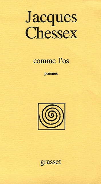 Comme l'os ebook by Jacques Chessex
