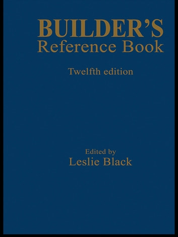 Builder's Reference Book ebook by