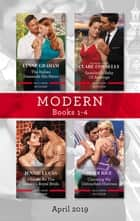 Modern Box Set 1-4/The Italian Demands His Heirs/Spaniard's Baby of Revenge/Chosen as the Sheikh's Royal Bride/Claiming My Untouched Mistre ebook by Lynne Graham, Jennie Lucas, Heidi Rice,...