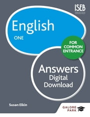English for Common Entrance One Answers eBook by Susan Elkin