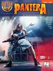 Pantera Songbook - Guitar Play-Along Vol. 163 ebook by Pantera