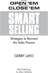 Smart Selling ebook by Gerry Layo