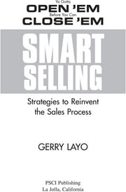Smart Selling ebook by Kobo.Web.Store.Products.Fields.ContributorFieldViewModel