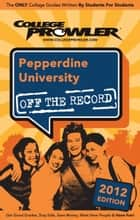 Pepperdine University 2012 ebook by Jackie Fetzer