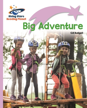 Reading Planet - Big Adventure - Lilac Plus: Lift-off First Words ebook by Gill Budgell