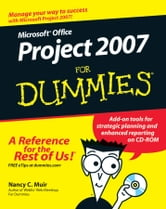 Microsoft Office Project 2007 For Dummies ebook by Nancy C. Muir