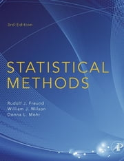 Statistical Methods ebook by Rudolf J. Freund,Donna Mohr,William J. Wilson