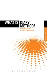 What is Diary Method? ebook by Ruth Bartlett,Christine Milligan