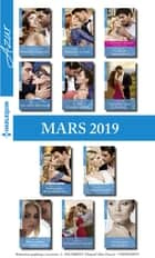 11 romans Azur + 1 gratuit (n°4059 à 4069 - Mars 2019) ebook by