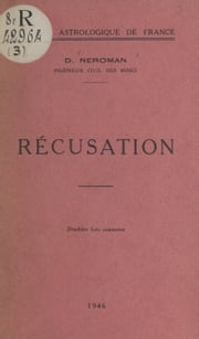 Récusation ebook by Dom Neroman