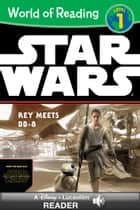 World of Reading Star Wars: Rey Meets BB-8 - A Lucasfilm Read-Along (Level 1) eBook by Lucasfilm Press