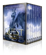 Quest: Eight Novels of Fantasy, Myth, and Magic - (free books featuring dragons, assassins, wizards and warriors in adventures of epic fantasy, sword and sorcery, dark fantasy, and more!) ebook by Lindsay Buroker,Joseph Lallo,Jeffrey Poole