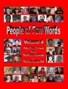 People of Few Words - Volume 4 ebook by Swan Morrison