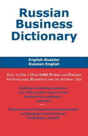 Russian Business Dictionary ebook by Morry Sofer