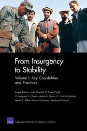 From Insurgency to Stability - Volume I: Key Capabilities and Practices ebook by Angel Rabasa,John Gordon, IV,Peter Chalk,Christopher S. Chivvis,Audra K. Grant