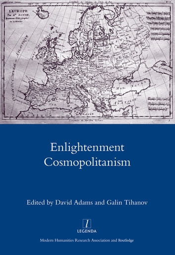 Enlightenment Cosmopolitanism ebook by David Adams