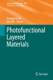 Photofunctional Layered Materials ebook by Dongpeng Yan,Min Wei
