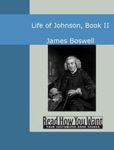 Life Of Johnson Book II ebook by James Boswell