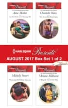 Harlequin Presents August 2017 - Box Set 1 of 2 - An Heir Made in the Marriage Bed\Protecting His Defiant Innocent\The Secret He Must Claim\A Ring for the Greek's Baby ebook by Anne Mather, Michelle Smart, Chantelle Shaw,...