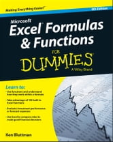 Excel Formulas and Functions For Dummies ebook by Ken Bluttman